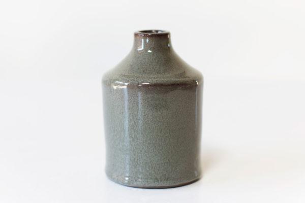 Minivaasje in flesvorm