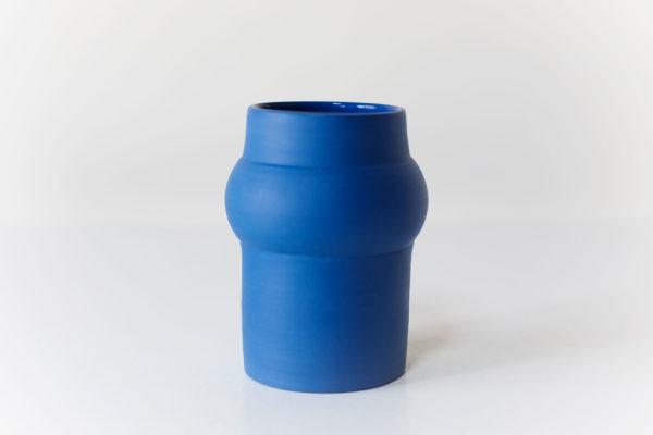 vaas - blauw porselein